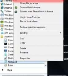 Как отредактировать файл hosts под Windows 7?